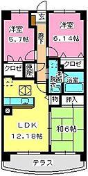 グランドゥール古祇園[1階]の間取り