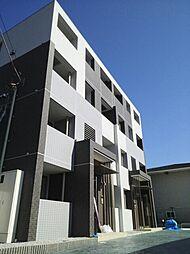 神奈川県藤沢市高谷の賃貸マンションの外観