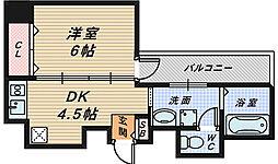 プログレス櫛屋町[6階]の間取り