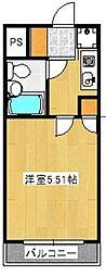 ワコーレリバーサイド多摩川II[3階]の間取り