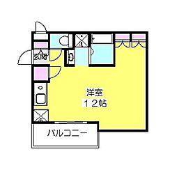 COCKTAIL-D[506号室]の間取り