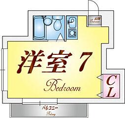 塩屋荘I[1階]の間取り