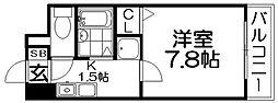 M`PLAZA香里弐番館[10階]の間取り