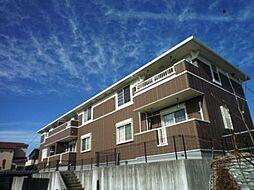 愛知県岡崎市丸山町字上ノ野の賃貸アパートの外観