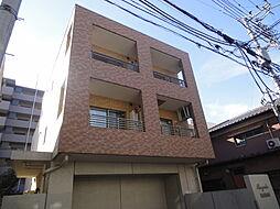 埼玉県草加市住吉1の賃貸マンションの外観