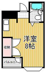 ナガタハウス[3階]の間取り