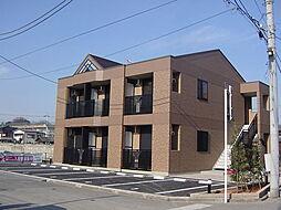 栃木県小山市天神町1丁目の賃貸アパートの外観