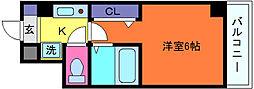 アロンディア六甲[4階]の間取り