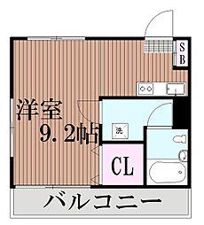 東京都大田区中央7丁目の賃貸マンションの間取り