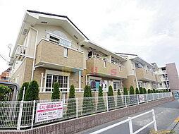 東京都青梅市野上町4丁目の賃貸アパートの外観