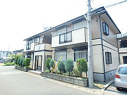 栃木県宇都宮市中今泉2丁目の賃貸アパートの外観