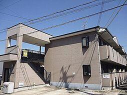 大阪府羽曳野市はびきの3丁目の賃貸アパートの外観