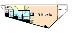 EZA蛍池[6階]の間取り