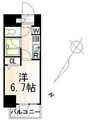 ガーラ・グランディ川崎[3階]の間取り