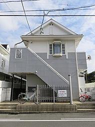 愛知県豊橋市北山町字東浦の賃貸アパートの外観