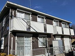 埼玉県上尾市大字原市の賃貸アパートの外観