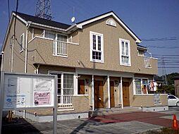 栃木県栃木市仲方町の賃貸アパートの外観