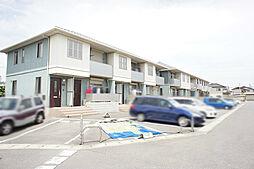 栃木県栃木市大平町牛久の賃貸アパートの外観