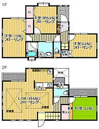 [一戸建] 東京都杉並区和泉2丁目 の賃貸【/】の間取り