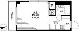 カルム堀口[4階]の間取り