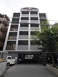 パラージュ西新[4階]の外観