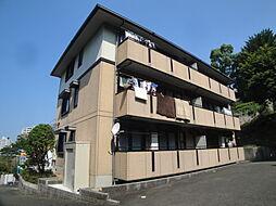 福岡県福岡市中央区谷1丁目の賃貸アパートの外観