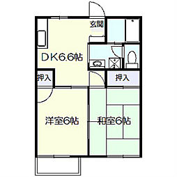 Casa AZ[2階]の間取り