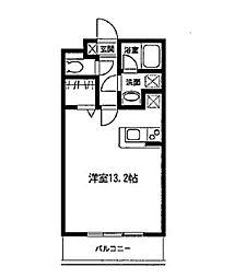 神奈川県川崎市高津区下作延5丁目の賃貸マンションの間取り