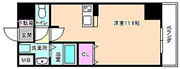 プラリア牧野阪[2階]の間取り