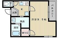 フジパレス東淀川2番館[2階]の間取り
