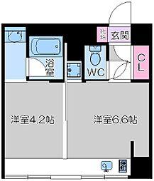 KITAHAMA CONSOLE[10階]の間取り