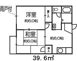 リバーサイド戸田A[2階]の間取り