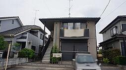 栃木県下都賀郡野木町大字友沼の賃貸アパートの外観
