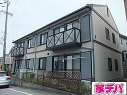 愛知県豊田市朝日町5の賃貸アパートの外観