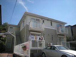 大阪府箕面市桜井3丁目の賃貸アパートの外観