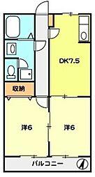 T-net 洋光台II[103号室]の間取り