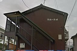 愛知県名古屋市名東区高柳町の賃貸アパートの外観