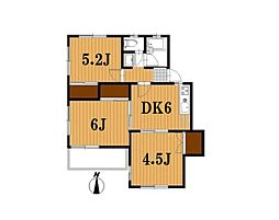 G−STAGE21「坂」[1階]の間取り