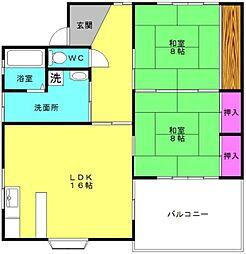 [一戸建] 兵庫県加古川市平岡町高畑 の賃貸【/】の間取り