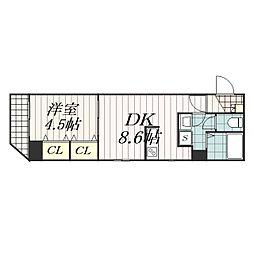Arcenciel稲毛(アルカンシエル稲毛)[5階]の間取り