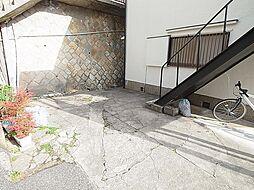 タカラハイツの駐輪スペース