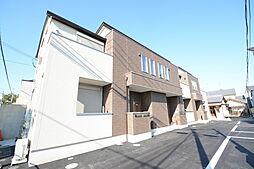 大阪府堺市北区北花田町1丁の賃貸アパートの外観