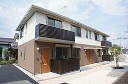栃木県下野市小金井の賃貸アパートの外観