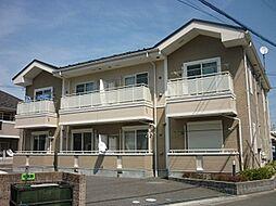 東京都八王子市西片倉1丁目の賃貸アパートの外観