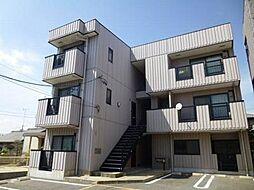 愛知県岡崎市柱曙1丁目の賃貸アパートの外観