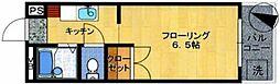 アミューズメント原田[405号室]の間取り