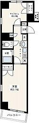 ステージファースト神田[3階]の間取り