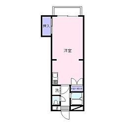 コンチェルトマンション[303号室]の間取り