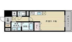 グレンパーク新大阪II[12階]の間取り
