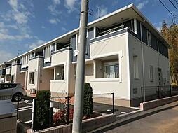 千葉県市原市西広の賃貸アパートの外観
